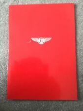 BENTLEY MULSANNE & MULSANNE TURBO Car Sales Brochure c1983