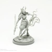 FearWaves Pinup Forsaker Model kit Kingdom Death FDB-076