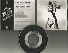 JIVE BUNNY AND THE MASTERMIXERS Glenn Miller Medley /Swing PROMO DJ CD single