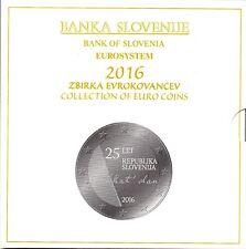 SERIE EURO BRILLANT UNIVERSEL (BU) - SLOVENIE 2016