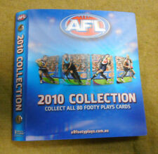 #NN. 2010  AFL TAZO  ALBUM - THINS, CC's, SAMBOY CHIPS