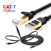 10Gbps Cat7 Ethernet Cable Lan Network RJ45 Patch Cable Cord For PC Laptop TR