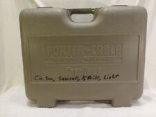 Porter Cable Professional Power Tool Hard Storage Case Only 19.2V Combo Kit Lock