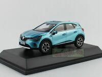 1:43 Scale Renault Captur car model Diecast Blue