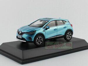 1:43 Scale Renault Captur car model Diecast Blue