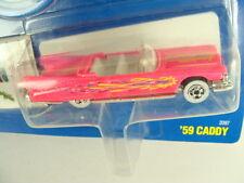 Hot Wheels 1991 Pink '59 Caddy California Custom