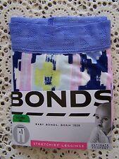 BNWT....**Bonds** Stretchies Lace Leggings ....Size 00/3-6 Months.....