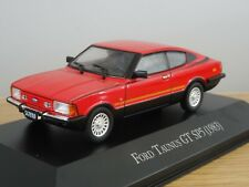 ALTAYA IXO FORD TAUNUS GT SP5 COUPE 1983 RED CAR MODEL MQ08 1:43