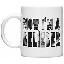 Justin Bieber Now I'm A Belieber Photo Belieber Bieber Celebrity 11oz Mug Gift