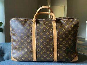 Authentic LOUIS VUITTON monogram canvas Sirius 45 suit case travel bag