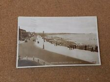 Promenade from Waverly Hotel Whitley Bay Sepia tone posted 1933  XC2