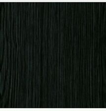 """Klebefolien Selbstklebendefolien 45x400 cm.qm.3.33 €""""Holzstruktur Schwarz"""""""