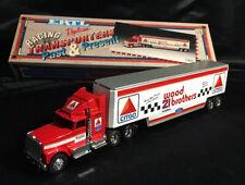 Vintage ERTL #21 CITGO WOOD BROTHERS 1/64 TRUCK TRANSPORTER HAULER 1993