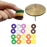 20pcs Drum Cymbal Set Felt Washers Pad Colorful 2.5cm Outer Dia Instrument