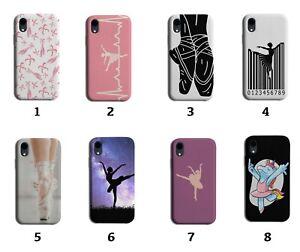 Ballet Phone Case Cover Ballerina Ballerinas Shoes Shoe Pink Girls Womens 8005 D