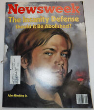 Newsweek Magazine John Hinckley Jr. May 24, 1982 100716R