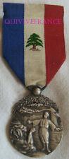 DEC6524 - ORDRE DU MERITE LIBANAIS - ETAT DU GRAND LIBAN - 2e CLASSE - en Argent