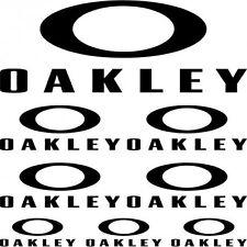 Kit Stickers Autocollants Moto - oakley  Réf: SPON-083