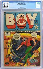 S579. BOY COMICS #75 Lev Gleason CGC 3.5 VG- (1952) CHARLES BIRO Cover
