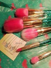 TARTE Minutes to Mermaid Brush Set Be a Mermaid & Make Waves Collection BNIB