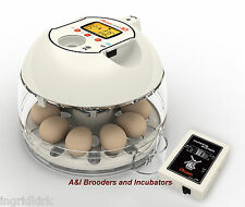 RCom Pro10 Plus Automatic Egg Incubator Quail Chicken Avian DIGITAL Warranty USA