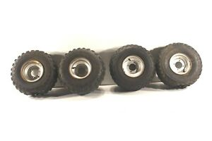 2005 Yamaha Raptor 80 Full Wheel Set Rims Tires Front Rear