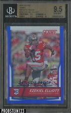 2016 Score Artist's Proof Ezekiel Elliott Cowboys RC Rookie 19/50 BGS 9.5 w/ 10