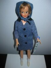"Ideal ~ Vtg 1960 Tammy/Misty Doll ~ Dressed In ""Puddle Jumper"" Outfit #9111"