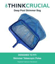 Replacement Deep Bag Pool Rake Attachment