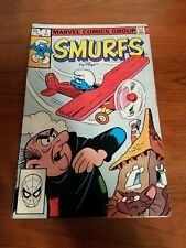 Vintage Bronze Age Smurfs Marvel Comics Group Comic Book