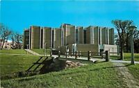 DeKalb Illinois~Northern Illinois University~Math & Psych Bldg~1960s Postcard