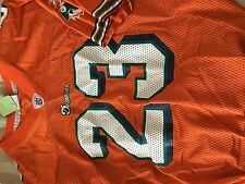 -  #23 Brown  Miami Dolphins  orange youth jersey youth XL