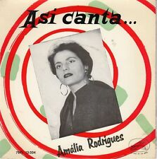 "AMALIA RODRIGUES - Una casa Portuguesa - r@re Spanish 7"" EP 45 Spain"