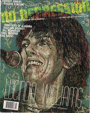 No hay depresión #33 de mayo y junio de 2001 Lucinda Williams Cubierta Reino Unido Mag