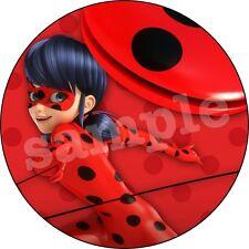 Miraculous Ladybug Decoration Gateau Disque Azyme Comestible Anniversaire 20cm