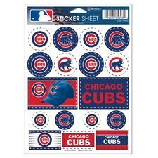 Chicago Cubs Vinyl Die-Cut Sticker Set / Decal Sheet *Free Shipping