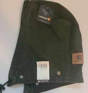 Carhartt Men's Detachable Quilt Lined Canvas Hood ~NWT~ Olive Green