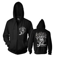 Officially Licensed Gas Monkey Garage Dallas, Texas Zipped Hoodie S-XXL Size