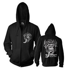 Gas Monkey Garage Fast N´ Loud Hoodie Sweater Pullover Dallas Texas Zip Black L