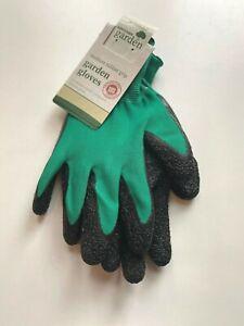 Premium Gardening Gloves with Grip Heavy Duty Medium Large