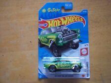 hotwheels mattel games GUSTER 55 chevy bel-air gasser