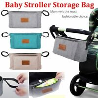 Travel Baby Care Waterproof Baby Stroller Bag Infant Pram Organizer Hanging Bag