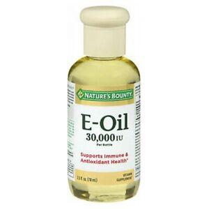 Nature's Bounty Vitamin E Oil 2.5 oz 30000 I.U