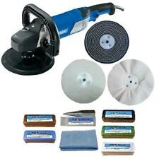 "Car Sander Rotary Polisher 1500W Variable Speed & 6"" Metal Polishing Kit"