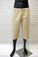 LEVI'S Bermuda Cotone Uomo Taglia 48 Pants Pantalone Corto Shorts Men's Casual