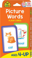 Picture Words Flash Cards Preschool Learning Vocabulary For Kids Toddlers 56 Cds