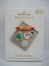 Hallmark 2009 Season's Treatings 1st Christmas Cookies Ornament MIB