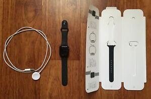 Apple Watch Series 6 40mm Black Aluminum & Ceramic Case GPS WR 50m