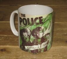 The Police Sting Message in a Bottle Advertising MUG