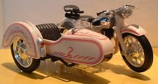 1:18 CLASSIC NSU MAX COMBINATION OUTFIT SIDECAR MODEL BEIGE STEIB VERY LTD